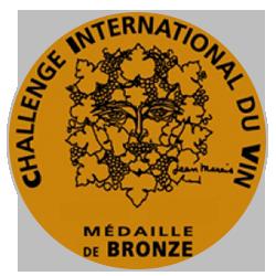 Challenge international du vin 2016 : Médaille de bronze