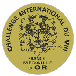 Challenge international du vin 2020 : Médaille d'or