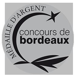 Concours de Bordeaux Vins d'Aquitaine 2018 : Médaille d'argent