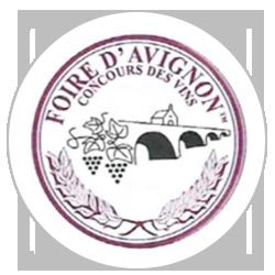Concours des vins de la Foire d'Avignon 2018 : Médaille de bronze