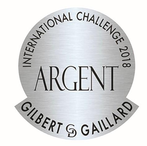 International Challenge Gilbert et Gaillard 2019 : Médaille d'argent