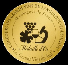 Concours des grands vins du Languedoc Roussillon 2020 : Médaille d'or, Coup de coeur