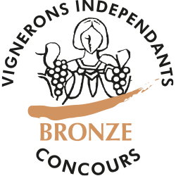 Concours des vins des vignerons indépendants 2015 : Médaille de bronze