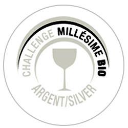 Concours des vins Millésime bio 2020 : Silver medal