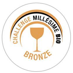 Concours des vins Millésime bio 2019 : Médaille de bronze