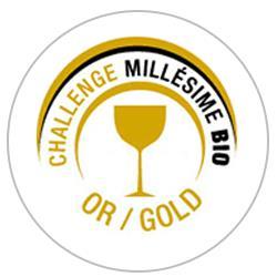 Concours des vins Millésime bio 2017 : Médaille d'or