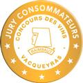 Concours des Vins Jury consommateurs de Vacqueyras 2018 : Médaille d'argent
