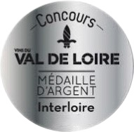 Concours des vins du Val de Loire – Interloire 2019 : Médaille d'argent