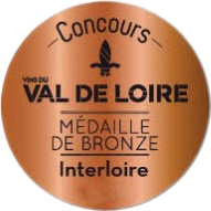 Concours des vins du Val de Loire – Interloire 2019 : Médaille de bronze