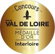 Concours des vins du Val de Loire – Interloire 2017 : Médaille d'or
